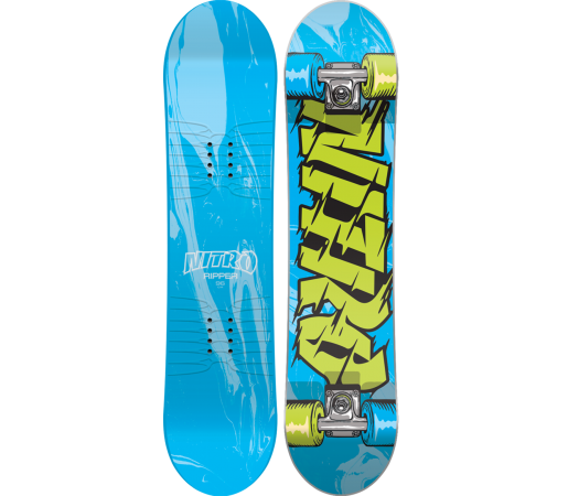 Placa Snowboard Nitro Ripper Kids 2016