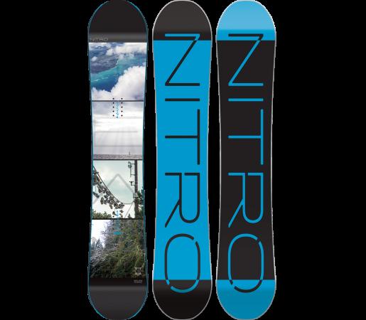 Placa Snowboard Nitro Team Exposure Gullwing 2016