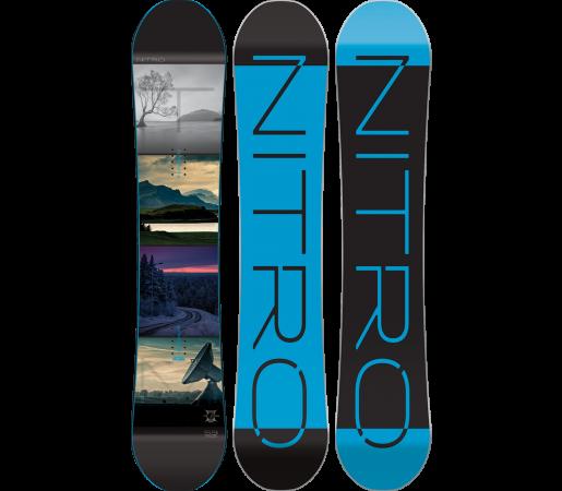 Placa Snowboard Nitro Team Exposure Gullwing Wide 2016