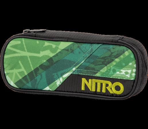 Penar Nitro Pencil Case Wicked Verde