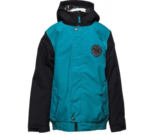 Geaca Snowboard Nitro Squaw Albastru/Negru