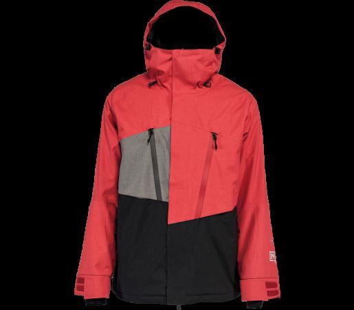 Geaca Snowboard Nitro Rainier Rosu/Negru