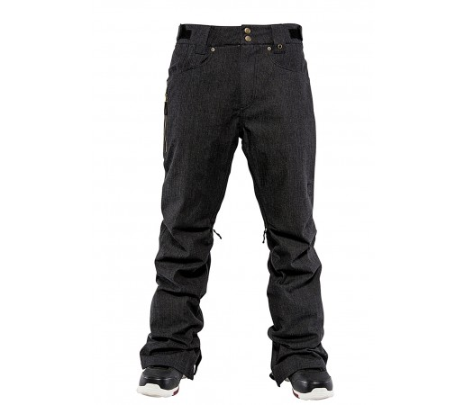 Pantaloni Snowboard Nitro Selkirk Negru Denim