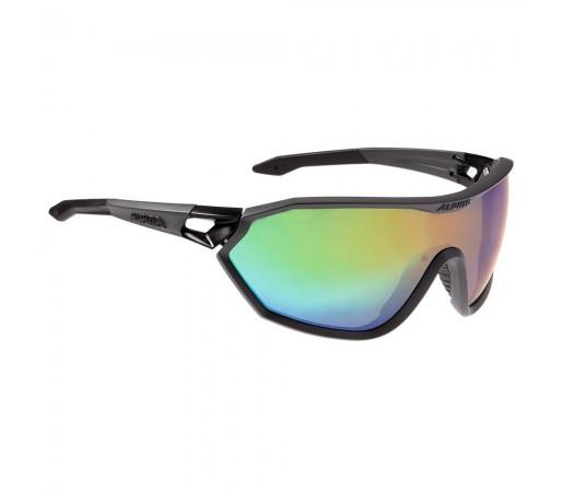 Ochelari de soare Alpina S-WAY VLM+ Coal Matt-Black