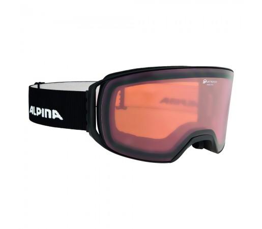 Ochelari Ski si Snowboard Alpina Arris Black Matt QH