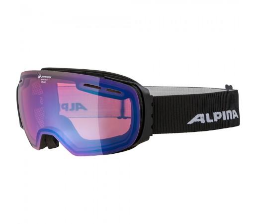 Ochelari Schi si Snowboard Alpina Granby HM black matt/red sapphire