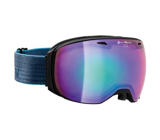 Ochelari Schi si Snowboard Alpina Big Horn QVMM Black Matt/Night Blue