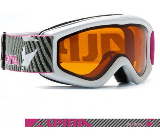 Ochelari Alpina Carat D alb-roz