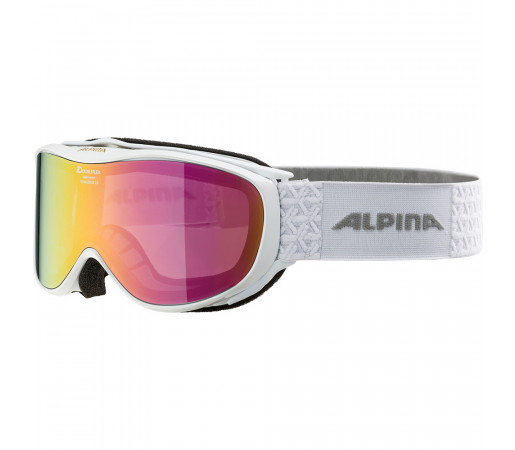 Ochelari Schi si Snowboard Alpina Challenge 2.0 MM white/pink