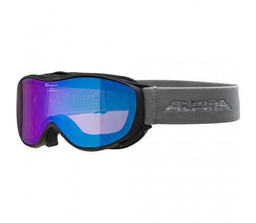 Ochelari Schi si Snowboard Alpina Challenge 2.0 HM black grey/blue