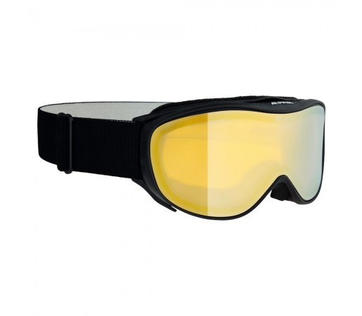 Ochelari Ski si Snowboard Alpina Challenge 2.0 Black MM Gold