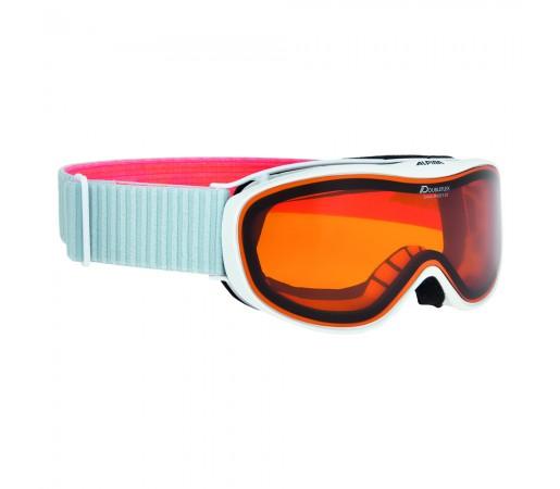 Ochelari Ski si Snowboard Alpina Challenge S 2.0 White-Flamingo DH
