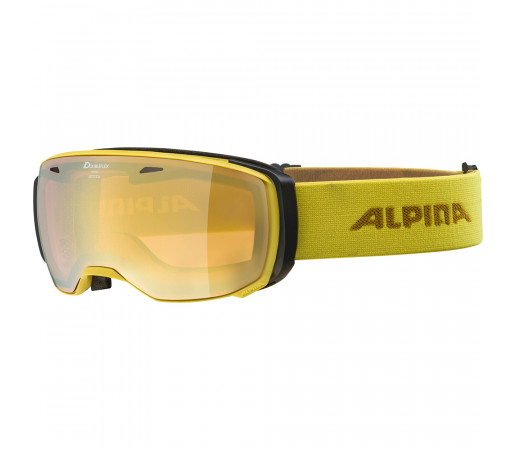 Ochelari Schi si Snowboard Alpina Estetica HM curry/gold sapphire