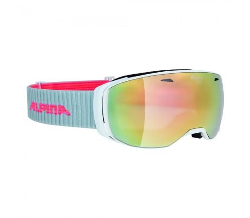 Ochelari Ski si Snowboard Alpina Estetica White MM Pink