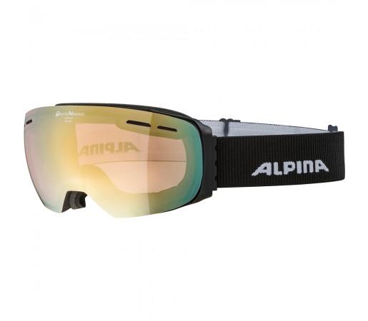 Ochelari Schi si Snowboard Alpina Granby QVMM black matt/lightgold sapphire