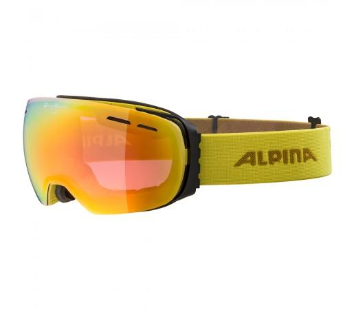 Ochelari Schi si Snowboard Alpina Granby QVMM curry/red sapphire