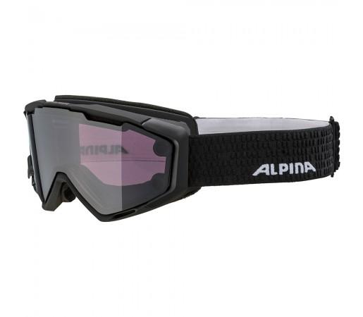 Ochelari Schi si Snowboard Alpina Panoma Magnetic black matt Q/S