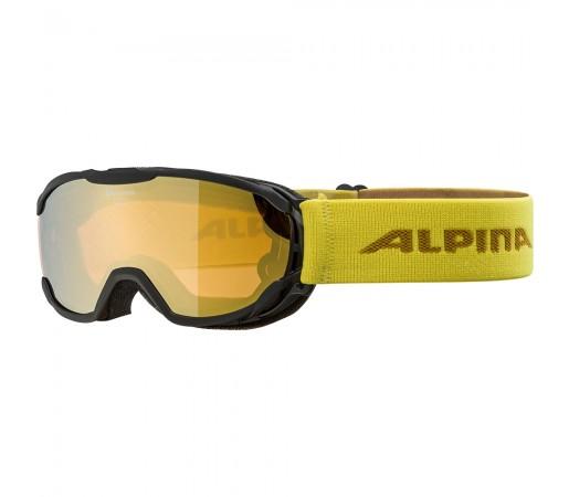 Ochelari Schi si Snowboard Alpina Pheos JR HM black curry/gold