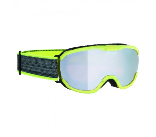 Ochelari Ski si Snowboard Alpina Pheos Jr Yellow Transparent MM Black