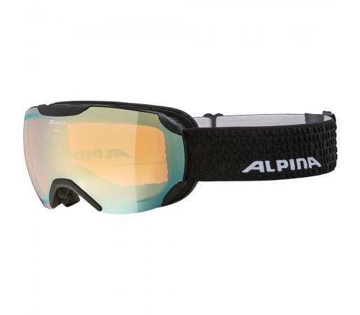 Ochelari Schi si Snowboard Alpina Pheos S HM black matt/gold sapphire