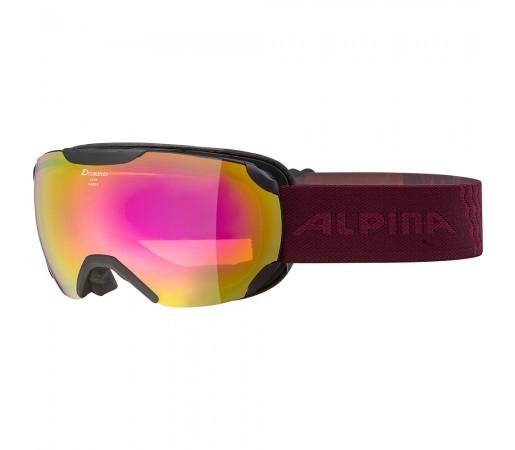 Ochelari Schi si Snowboard Alpina Pheos S HM black cassis/pink sapphire