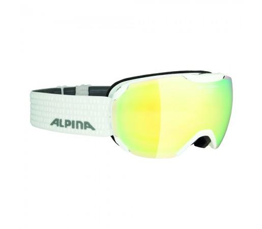 Ochelari Ski si Snowboard Femei Alpina Pheos S White QVMM Lightgold