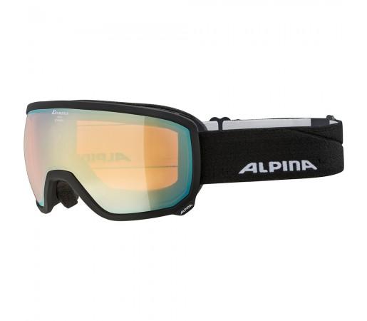 Ochelari Schi si Snowboard Alpina Scarabeo HM black matt/gold sapphire