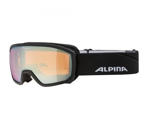 Ochelari Schi si Snowboard Alpina Scarabeo JR HM black/gold sapphire