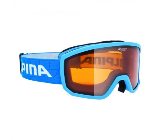Ochelari Ski si Snowboard Alpina Scarabeo S Lightblue DH