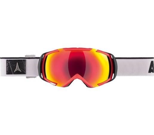 Ochelari de schi si snowboard Atomic Revel 3 M Rosu