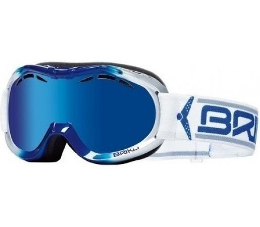 Ochelari Schi si Snowboard Briko Junior Cup Black/Red