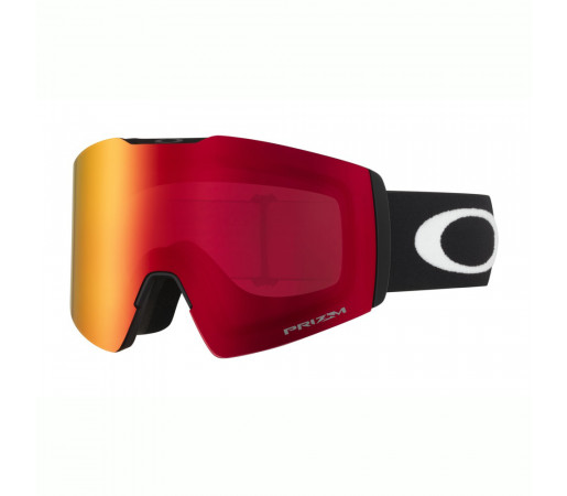 Oakley Ochelari Ski Fall Line XL Matte Black Prizm Snow Torch Iridium Unisex Negru