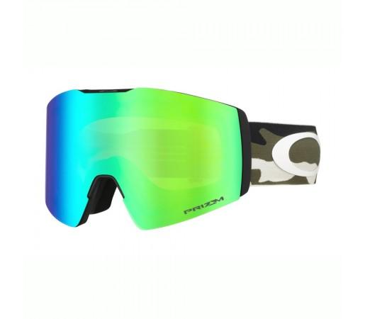 Oakley Ochelari Ski Fall Line XL Dark Brush Camo Prizm Snow Jade Iridium Unisex Multicolor