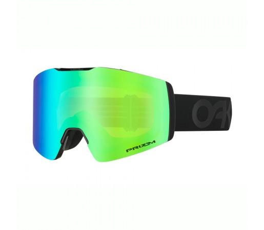 Oakley Ochelari Ski Fall Line XM Factory Pilot Blackout Prizm Snow Jade Iridium Unisex Negru