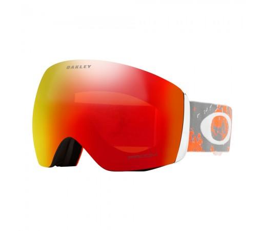 Ochelari Ski si Snowboard Oakley Flight Deck Artic Fracture Sharkskin Orange Prizm Snow Torch Iridium