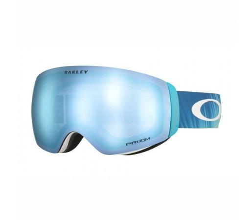 Oakley Ochelari Ski Flight Deck XM Mikaela Shiffrin Prizm Snow Sapphire Iridium Femei Bleu
