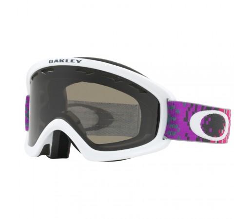 Ochelari Ski si Snowboard Copii Oakley O2 XS Pixel Fade Iron Rose Dark Grey