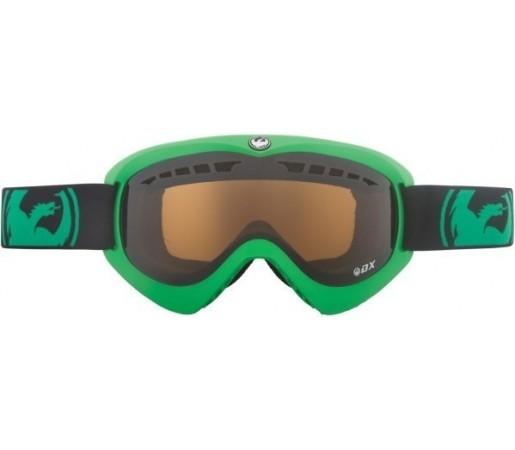 Ochelari Schi si Snowboard Dragon DX Verzi / Jet