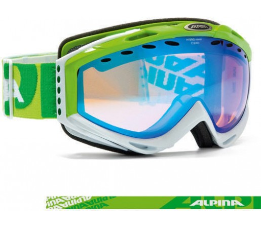 Ochelari  Alpina Cybric HM Sferici verzi