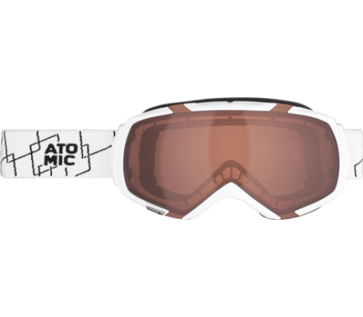 Ochelari Atomic REVEL M White/Amber OS
