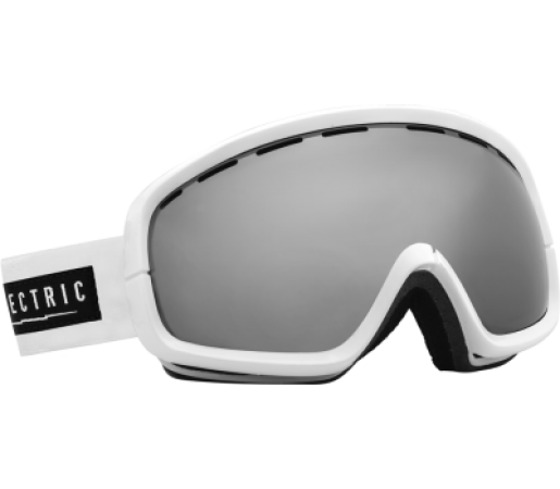 Ochelari Ski ELECTRIC EGB2s Gloss White Bronze/Silver Chrome