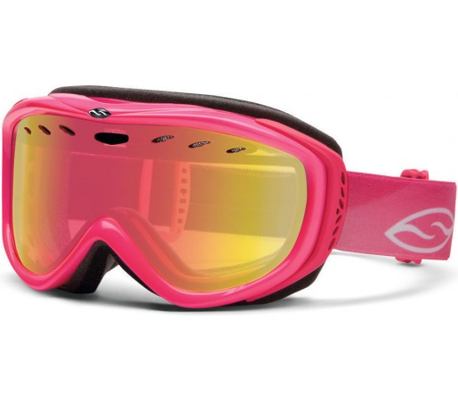Ochelari Schi si Snowboard Smith Cadence Shocking Pink/ Red Sensor