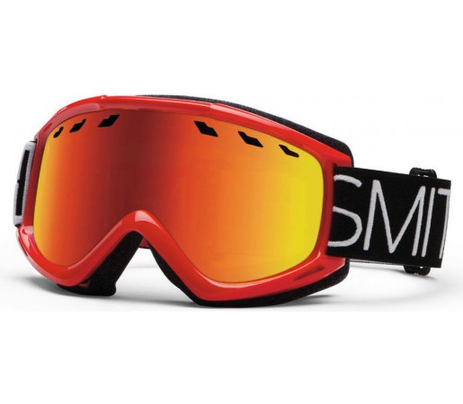 Ochelari Skii si Snowboard Smith Sentry Fire Blockhead / Red Sol-x
