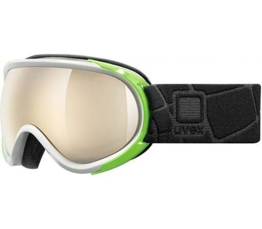 Ochelari Schi si Snowboard Uvex GGL 7 Pure White- Green- Black