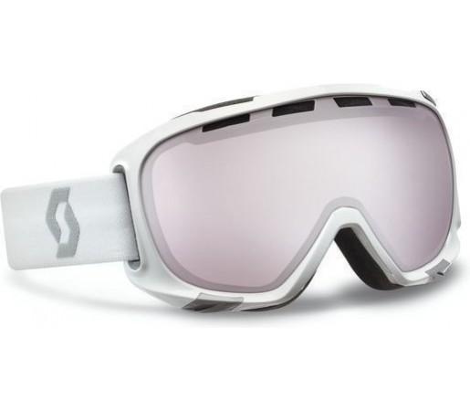 Ochelari Scott Fix White Silver chrome