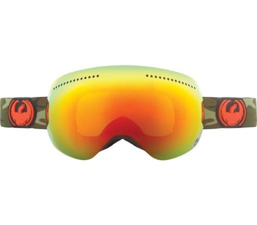 Ochelari Ski DRAGON APX Camo Red Ionized / Yellow-BlueIonized
