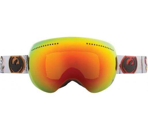 Ochelari Ski DRAGON APX FrenchPeople DAP Red Ionized / Yellow-BlueIonized
