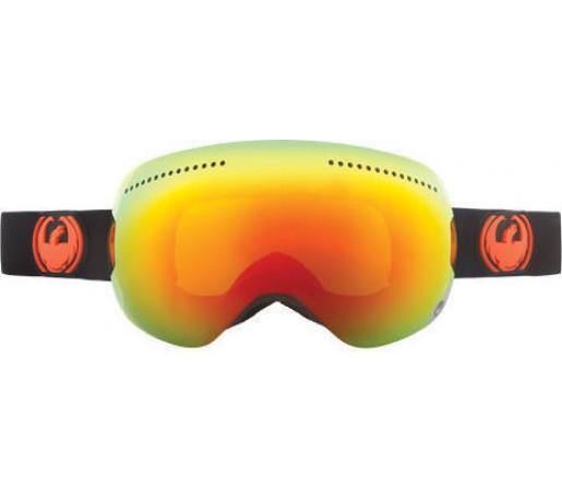 Ochelari Ski DRAGON APX Jet Red Ionized / Yellow-BlueIonized