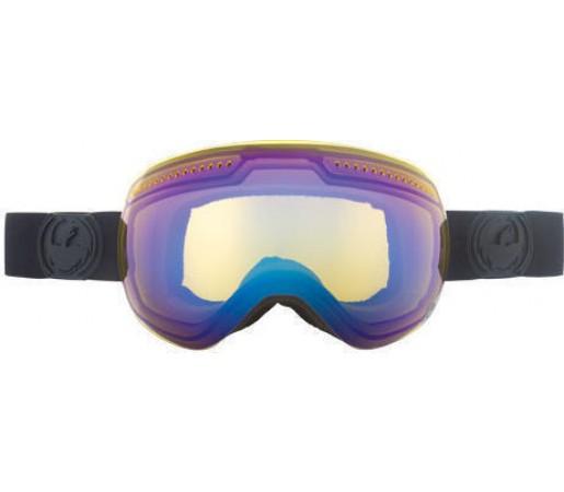 Ochelari Ski DRAGON APX Knight Rider YellowBlue Ionized / Rose & Eclipse