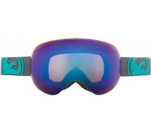 Ochelari Ski DRAGON APX Pop Teal Blue Steel